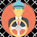 Motorman Driver Chauffeur Icon