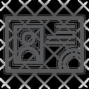 Driver License Document Icon