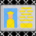 Driver Id Card Icon