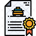 Driver License Driver Document Car Document Icon