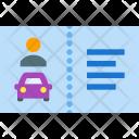 Driver license Icon