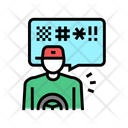 Driver Swearing Driver Swearing Icon