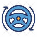 Driverless Automation Autopilot Mode Icon