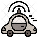 Driverless car Icon