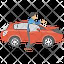 Driving Car Icon