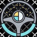 Driving Data Data Technology Icon