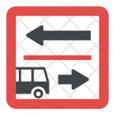 Driving Directions Icon