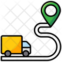 Driving Route Icon