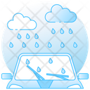 Rain Rainy Weather Heavy Rain Icon