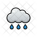 Drizzle Weather Sky Icon