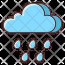 Drizzle Raining Rain Icon