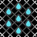 Drizzle Rain Drops Icon