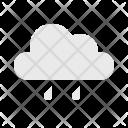 Cloud Shower Drizzle Icon