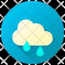 Drizzle Rain Showers Icon