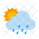 Cloud Day Drizzle Icon