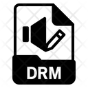 Drm file Icon