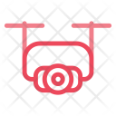 Drone Aircraft Camera Icon
