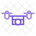 Drone Camera Aircraft Icon