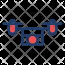 Drone Camera Aircraft Icon