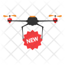 New Drone Delivery Icon