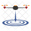 Down Fit Landing Icon