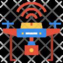 Drone Camera Fly Icon