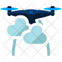 Drone Cloudy Icon