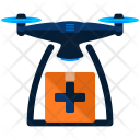 Drone Carry Medical Icon