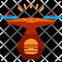 Drone Food Icon