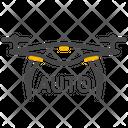 Drone Auto Pilot Auto Drone Icon