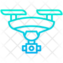 Drone Aerial Vehicle Aircraft Icon