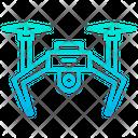 Camera Drone Copter Icon