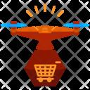Shopping Drone Icon