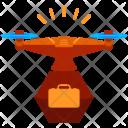 Drone Suitcase Icon