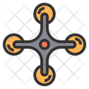 Drone Camera Smart Technology Icon
