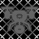 Drone Robot Camera Icon