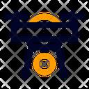Drone Quadcopter Video Icon