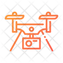 Drone Drone Delivery Air Delivery Icon