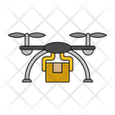 Drone Air Delivery Air Transport Icon