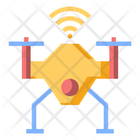 Drone Iot Quadcopter Icon