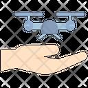Drone Hand Small Icon