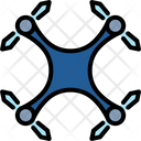 Drone Helicopter Aircraft Icon