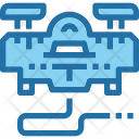 Drone Technology Hardware Icon