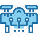 Drone Connect Technology Icon