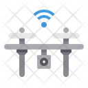 Drone Video Transportation Icon