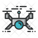 Drone Robot Aerial Icon