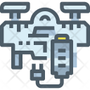 Drone Battery Battery Icon