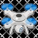 Drone Quadcopter Aerial Drone Icon