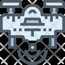 Drone Wireless Device Icon