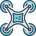 Drone Technology Drone Technology Icon
